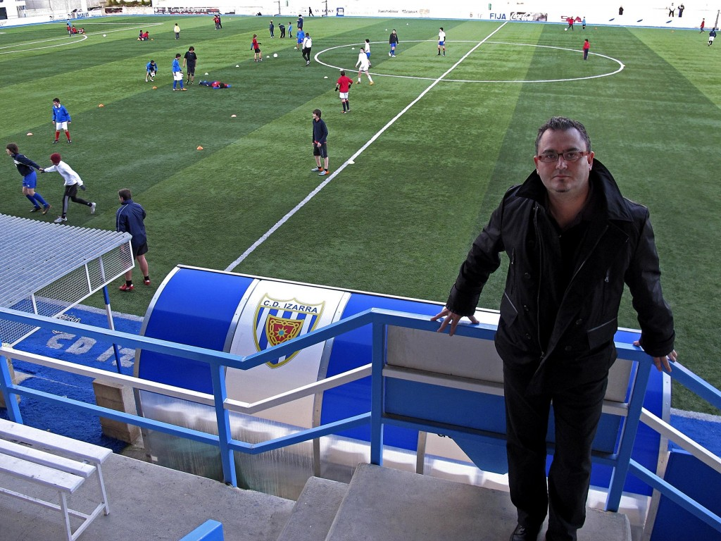 Saludo del Presidente Club Deportivo Izarra