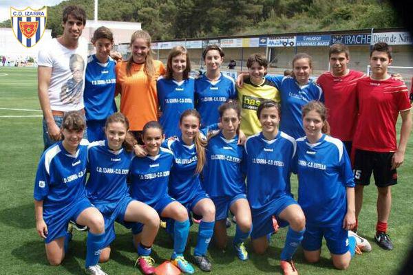 final de copa futbol 8 C.D.Izarra